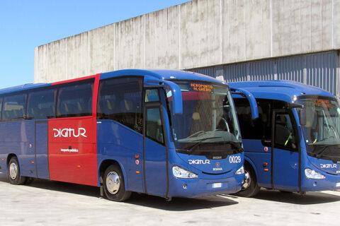 Autobus da e per aeroporto di Alghero linea